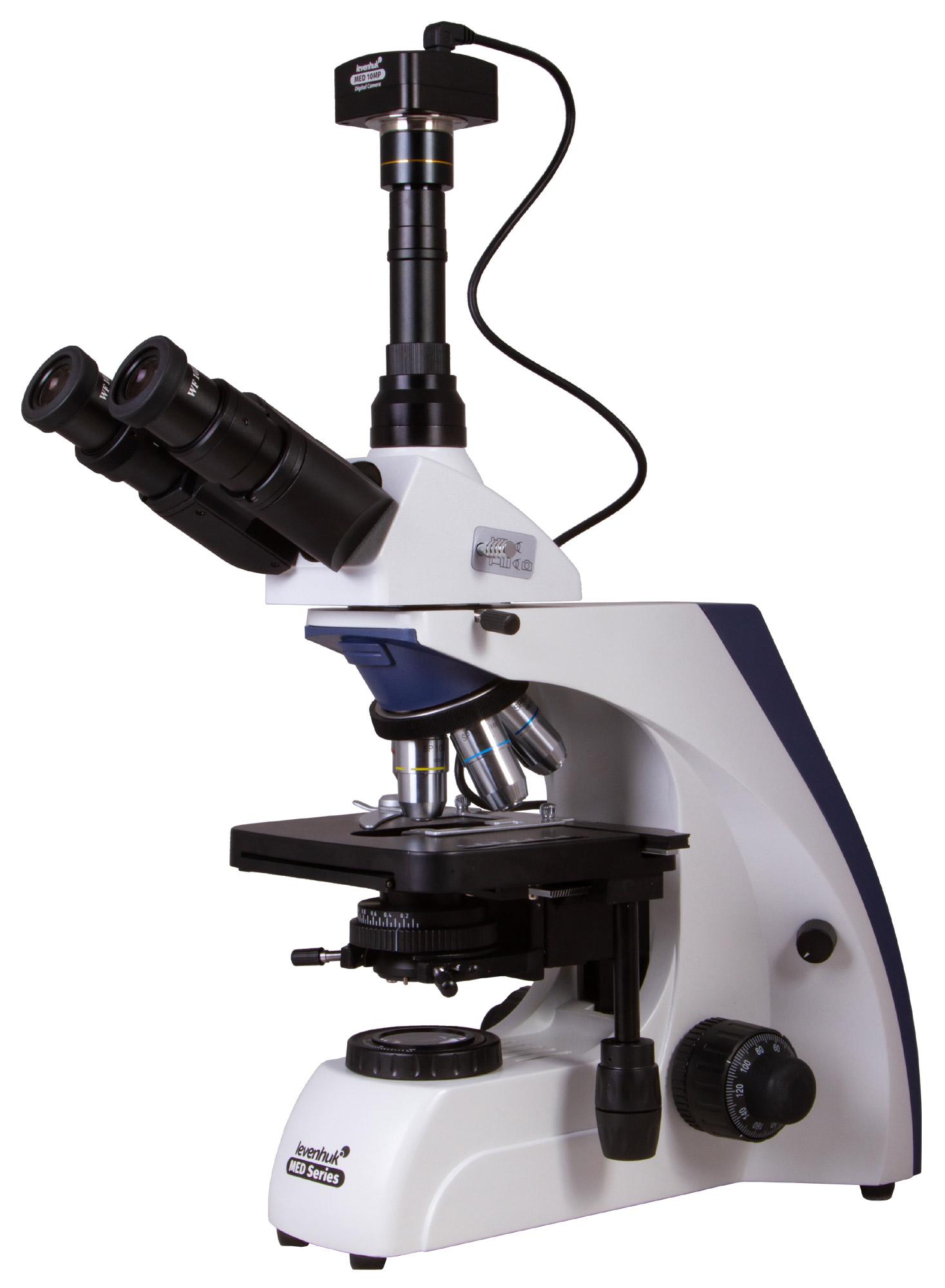 Микроскоп цифровой Levenhuk MED D30T, тринокулярный
