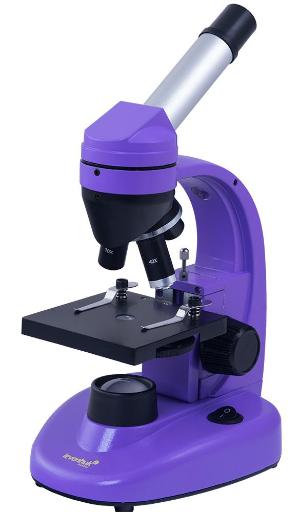 Микроскоп Levenhuk Rainbow 50L NG Amethyst\Аметист
