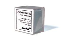 Стекла покровные Levenhuk G100, 100 шт.