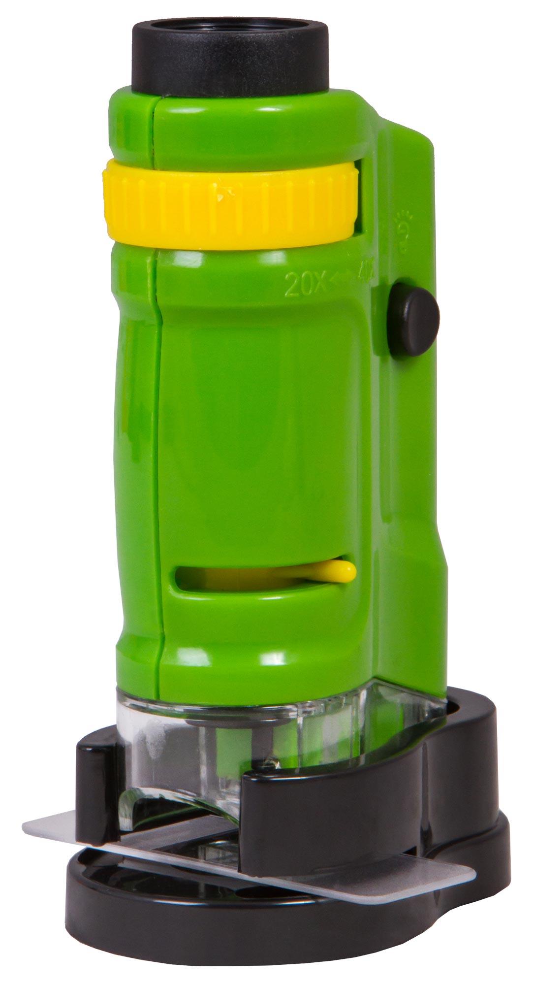 Микроскоп портативный Bresser National Geographic 20–40x