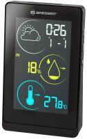 Метеостанция Bresser Temeo Life H с цветным дисплеем, черная