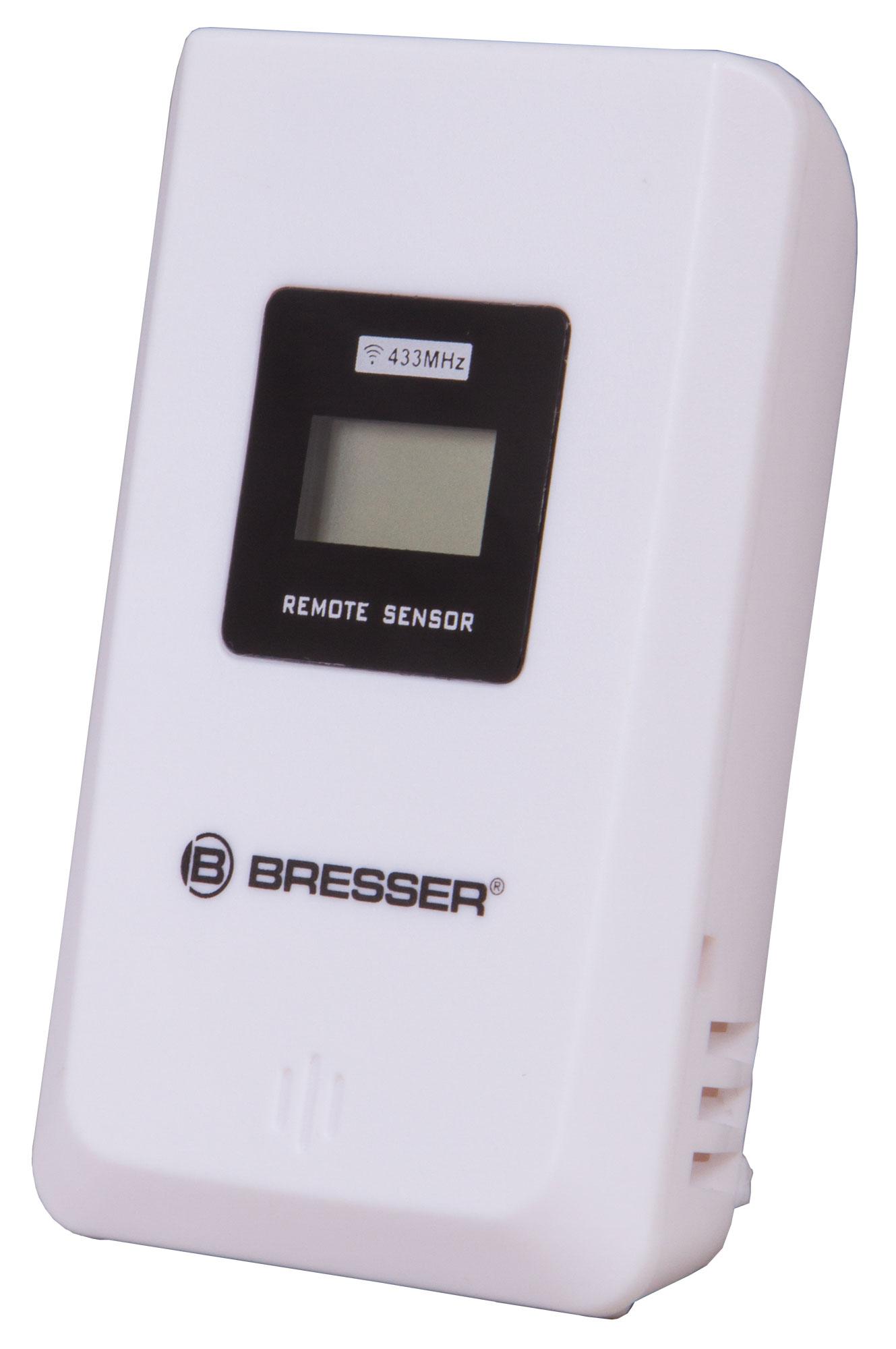 Датчик внешний Bresser для метеостанций, 433 МГц, трехканальный