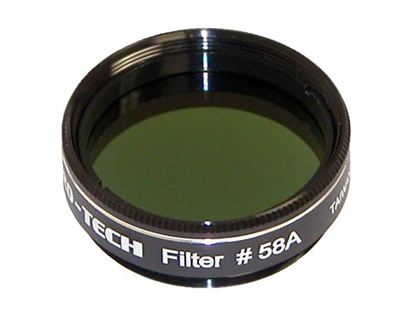 Светофильтр Sky-Watcher № 58, темно-зеленый