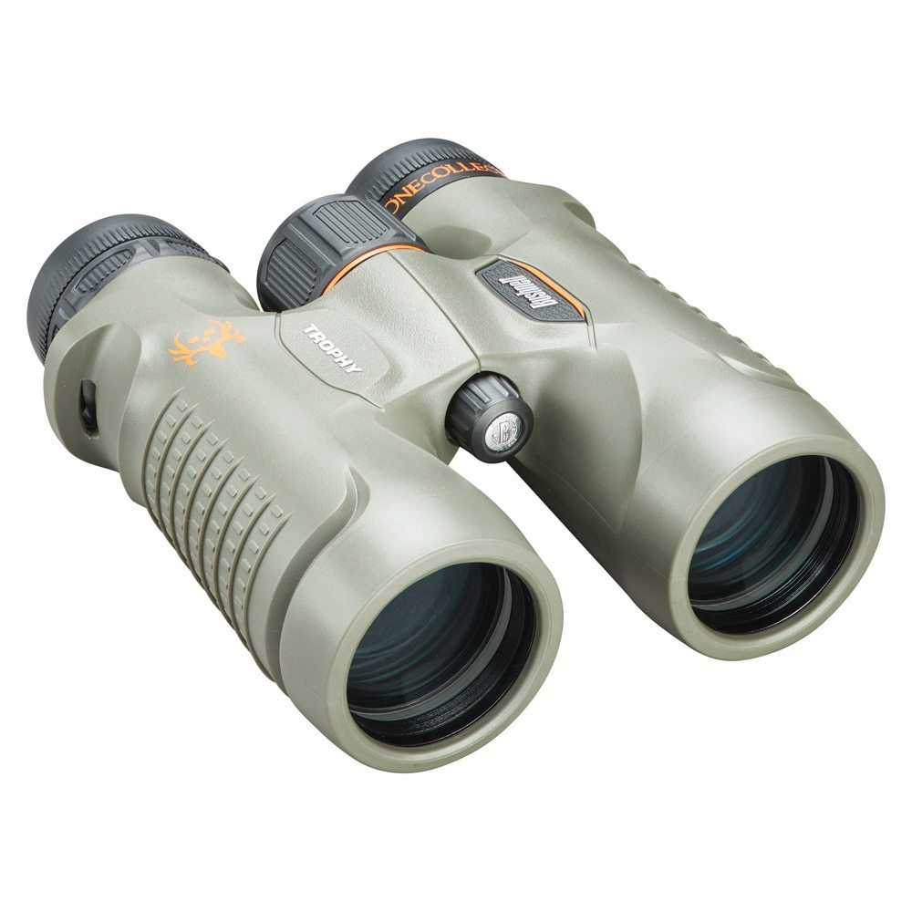 Бинокль Bushnell Trophy 10x42, зеленый