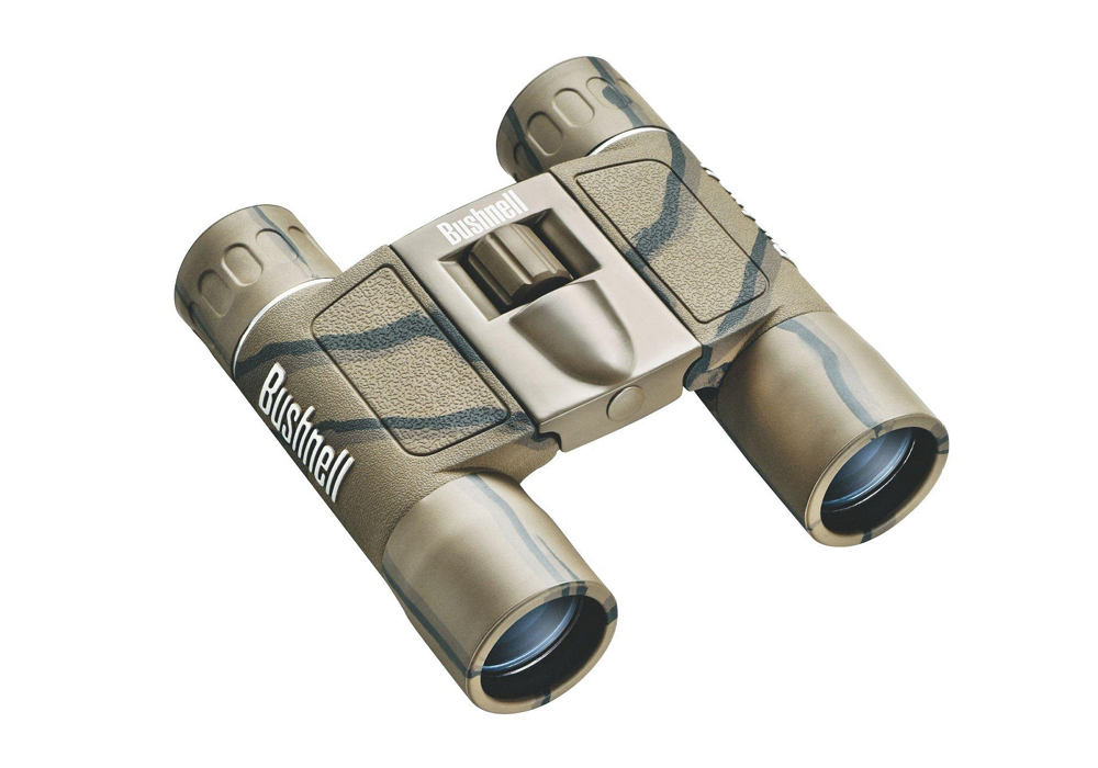 Bushnell POWERVIEW 10x25 ROOF COMPACT CAMO бинокль #132517