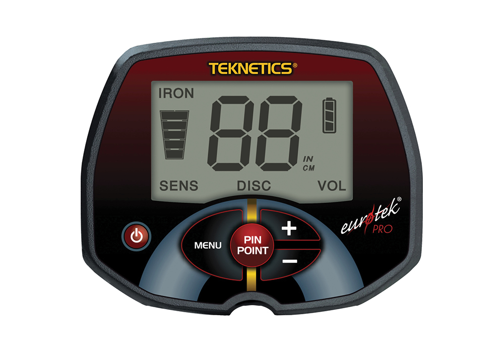 "Металлоискатель Teknetics Eurotek Pro, катушка 11"" DD"