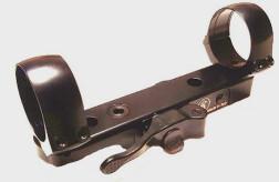 Быстросъемный кронштейн СА 26 mm на основания СА (длина базы 115, расст. между кольцами 100)