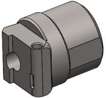 Переходник «Шарнир АК-1» без смещения, для трубок Comercial, оружие тип САЙГА-МК,АК-100,АКС-74