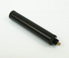 Имитатор глушителя STALKER для модели SPM 4,5мм, удлинение ствола, скорость +20%, металл, длина 120мм., черный, 58гр.