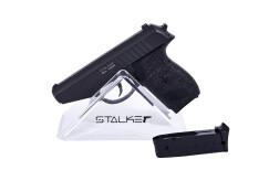 Пистолет пневм. Stalker SA230 Spring (аналог SigSauer P230), к.6мм, мет.корпус, магазин 8шар, до 80м/с, черный