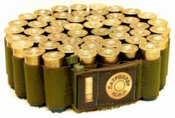 Патроллер, патронная лента для 50 шт. гладкоствол. патронов, эластичная, от 20 калибра и крупнее, ширина 40мм., вес 125г