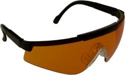 очки стрелковые Sporty оранжевые (УФ-защита, класс оптики 1, незапотевающие, регулируемые дужки, сменные линзы)