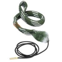 Hoppe's - Гибкая змейка для чистки оружия 16 калибра в контейнере, крышка с функцией рукоятки для змейки