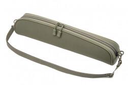 Чехол под оптику Vektor, нейлоновый с мягкой подкладкой и ремнем, длина 36 см, высота 9 см, зеленый