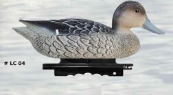 Чучело шилохвости утка плавающее, не складное, пластик, утяжеляющий киль, эконом, 375гр./1шт. (12 шт/уп)