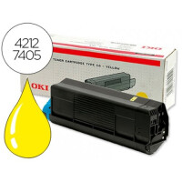 Картридж/тонер OKI, высокой емкости, желтый (Yellow), для C5100/C5200/C5300/C5400