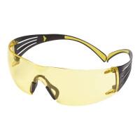 Очки стрелковые 3M™ SecureFit™ 401, поликарбонат, покрытие Scotchgard™ AS (против царапин)-AF(против запотевания), линзы желтые,19г