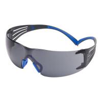 Очки стрелковые 3M™ SecureFit™ 401, поликарбонат, покрытие Scotchgard™ AS (против царапин)-AF(против запотевания), линзы серые,19г