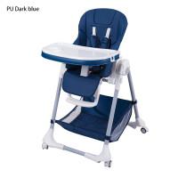 Стульчик для кормления Aricare 1014-B, Dark Blue