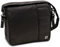 Сумка для коляски Moon Messenger Bag Black Fishbone