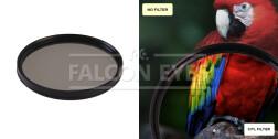 Поляризационный циркулярный фильтр для объектива CPL 55 mm