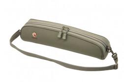 Чехол под оптику Vektor, нейлоновый с мягкой подкладкой и ремнем, длина 42 см, высота 12,5 см, зеленый