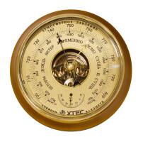 Барометр Утес БТК-СН 8 шлифованное золото