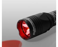 Фонарь тактический Armytek Dobermann XP-E2, красный свет