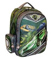 Рюкзак школьный Greenwich Line Crazy Car
